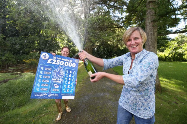 Festival Loving Derry Lady Scoops £250k National Lottery Win