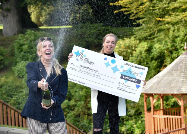 EUR-EKA!!!! Derry-based inventor discovers £1 MILLION EuroMillions win