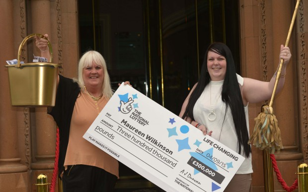 """""""Stop the car, I've just won three hundred grand!"""" Belfast woman cleans up with £300k Scratchcard Win"""
