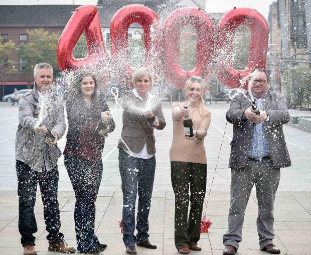 NI lottery winners celebrate monumental 4,000 millionaire milestone