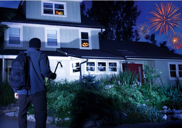 Don't Let Thieves Make Halloween a Nightmare