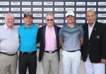 From L-R: George Horan, President, Dubai Duty Free; Soren Kjeldsen; Keith Pelley, CEO, European Tour; Rory McIlroy; Colm McLoughlin, Executive Vice Chairman, Dubai Duty Free