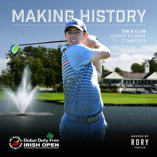 DDF Irish Open 2016 - Rory image